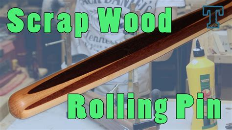 scrap wood project   pastry rolling pin youtube