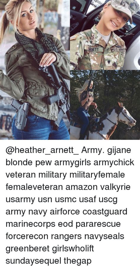 ARNETT Ther Arnett US ARMIN Army Gijane Blonde Pew