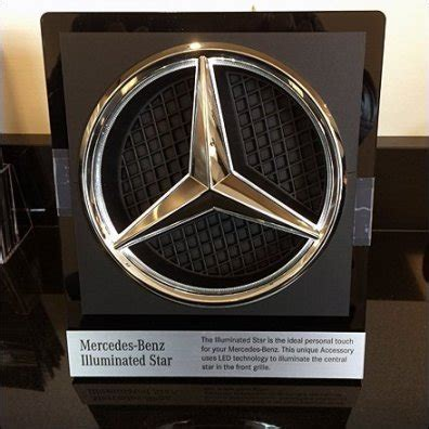 mercedes benz  christmas ornament fixtures close