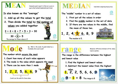 median mode and range posters edgalaxy cool stuff for nerdy teachers
