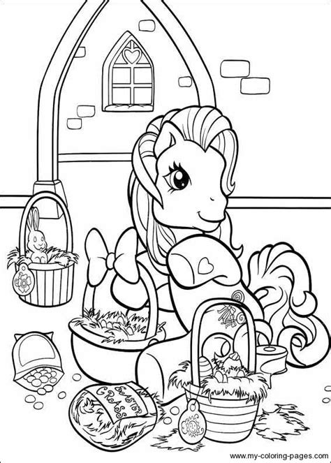 pony friendship  magic coloring pages lets