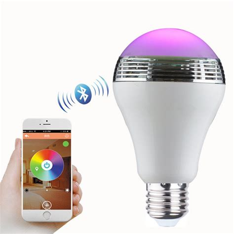 canbor wireless bluetooth speaker smart led light