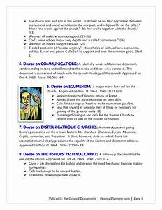 vii summary of vatican ii documents With vatican 1 documents