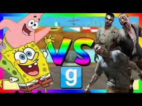 Spongebob vs Zombies Gmod Sand Box