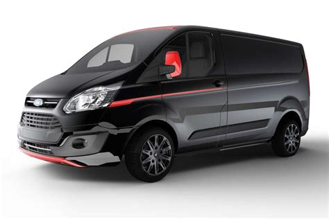 siege auto allemagne ford transit custom black edition 2017