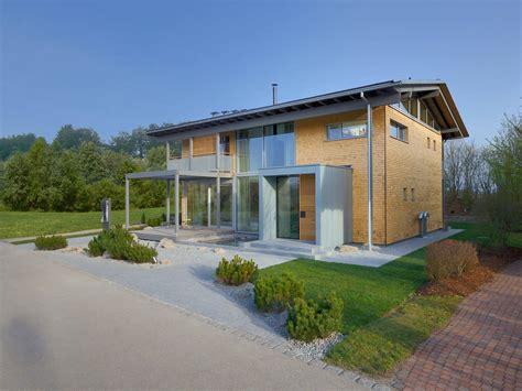 Einfamilienhaus Holzhaus Mit Ziegelfassade by Kubus Haus Crichton Holzhaus