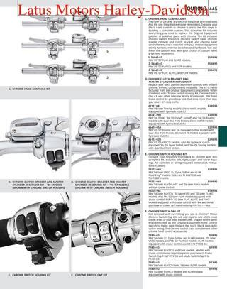Diagram Of Primary 88 Cubic In Road King by Part 2 Harley Davidson Parts And Accessories Catalog By