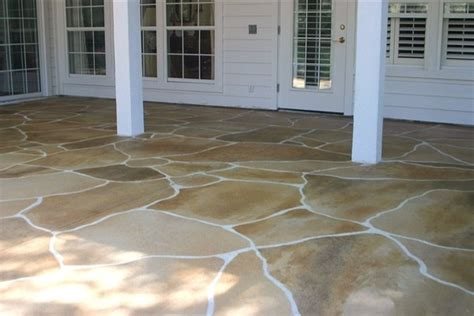 outdoor patio lastiseal concrete stain sealer modern