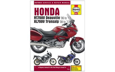 honda nt 700 wiring diagram honda nt700v deauville and xl700v transalp 2006 2013haynes owners service and repair manual