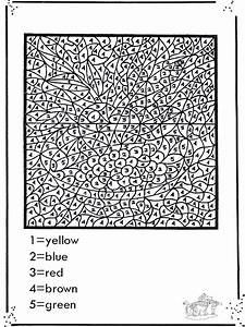 Free Printable Paint By Numbers For Adults - Coloring Home