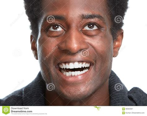 Black Stock Images Happy Black Smile Royalty Free Stock Photo