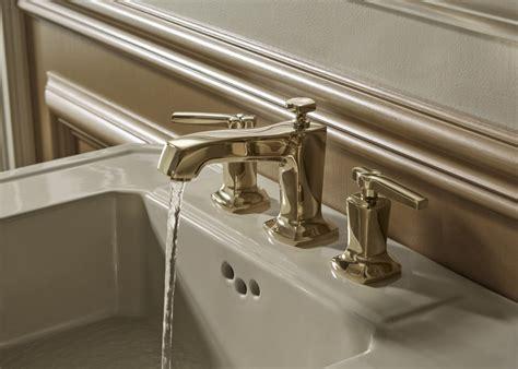 gold leaf bathroom kohler ideas
