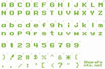 Mega Font Data