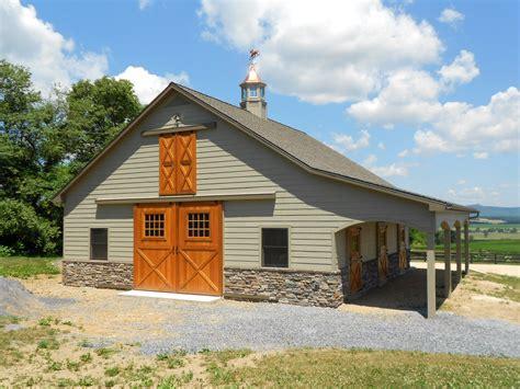 pole barn home interiors custom pleasure barn precise buildings