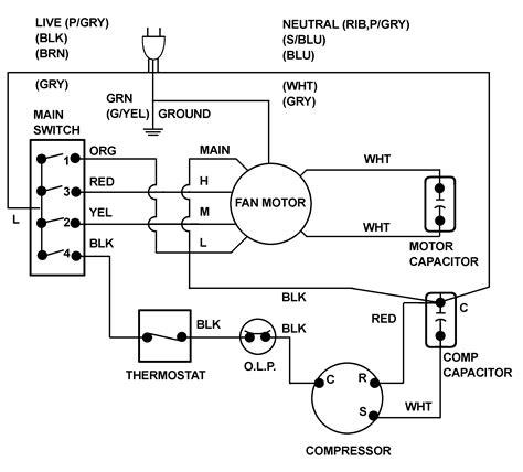 Wiring Diagram Electric Fan Motor