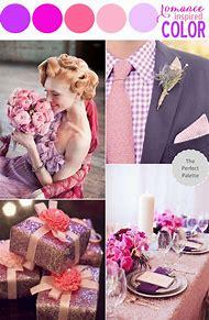 Purple Wedding Color Palette
