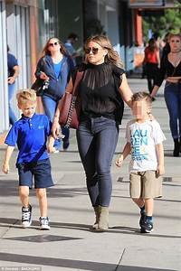 Hilary Duff steps out in a casual chic ensemble in LA ...