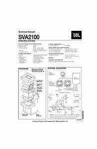 Jbl Sva 2100 Service Manual  U2014 View Online Or Download