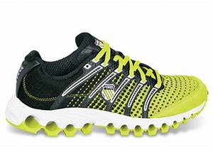K Swiss Womens Tubes Run 100 Neon Yellow Black