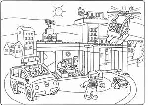 Lego City Police Coloring Pages Gallery Coloring For