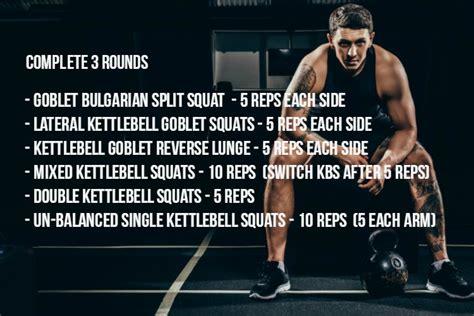 kettlebell workout complex leg squat variations exercises exercise variation squats complete each