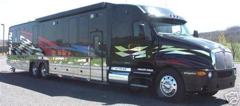 2002 kenworth t2000 55 kingsley conversion truck conversion toterhome garagecoach