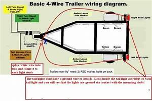 Wiring Boat Trailer Lights Diagram Di 2020  Dengan Gambar