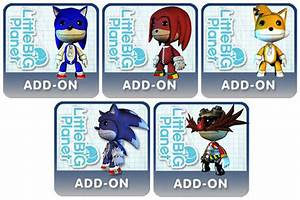 Sonic Costumes Coming To LittleBigPlanet God Is A Geek