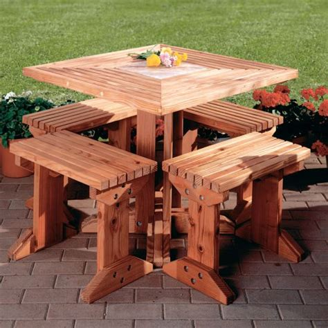 woodworkers journal picnic table plan rockler