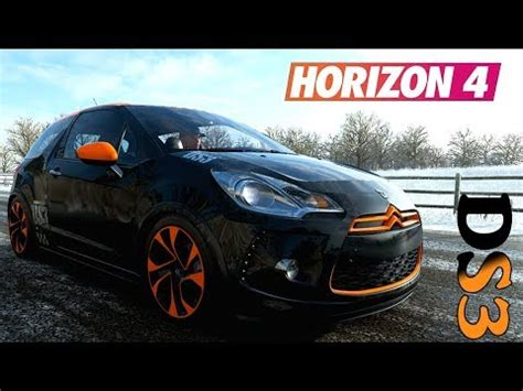 forza horizon  larrivee de la citroen ds racing
