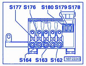 Volkswagen Tiguan 2005 Fuse Box  Block Circuit Breaker Diagram  U00bb Carfusebox