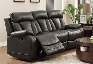 Cheap recliner sofas for sale black leather reclining for Sectional sofa with recliner for sale