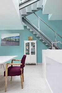 Orange Vert Quel Couleur : couleur cuisine vert d 39 eau meubles blanc peinture zolpan ~ Dallasstarsshop.com Idées de Décoration