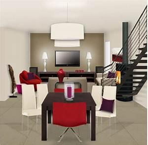 Aménagement D Un Salon : am nagement d co appartement salon ~ Zukunftsfamilie.com Idées de Décoration