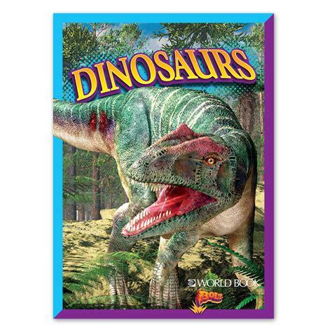 dinosaurs paperback world book