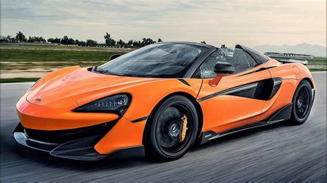 2019 Orange Mclaren 600lt Spider