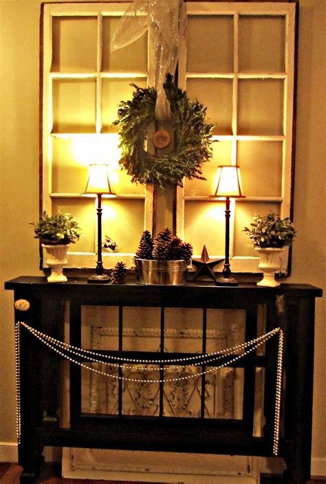 Decorating Ideas For Foyer by To Earth Style Foyer Mantel