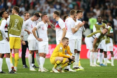 England Croatia Aet Report Three Lions Bow Out