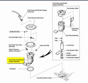 1997 Toyota Rav4 Fuel Filter Location