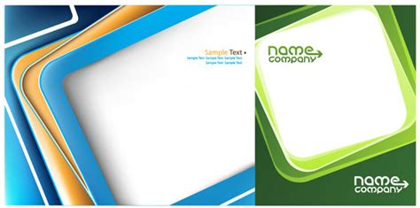Box Business Card Template Vector Graphic Free Vector In