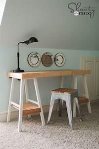 Simple, Diy, Desk