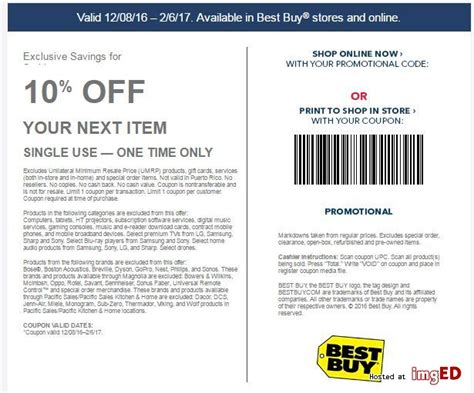 best buy in store coupons august 2018