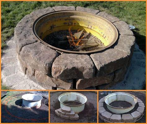 pit designs tire rim fire pit fire pit design ideas