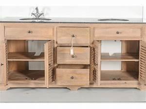 meubles petite salle de bain 7 meuble double vasques en With meuble sous vasque en bois massif