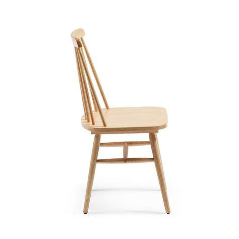 chaises retro lot de 2 chaises en bois vintage tressia par drawer fr