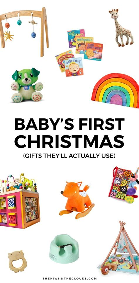 11 baby s first christmas gifts that will actually get used