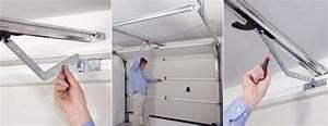 automatiser une porte de garage porte de garage With comment fixer une porte de garage