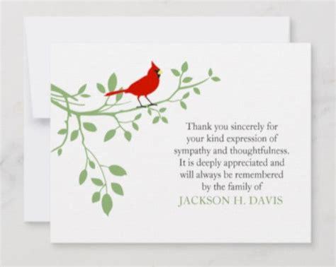 Add your own photo to the microsoft word thank you card template, or use the image included. 15+ Funeral Thank You Card Templates in AI | Word | Pages | PSD | Publisher | Free & Premium ...