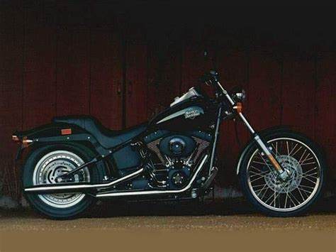 2009 Harley-davidson Fxstb Softail Night Train Review