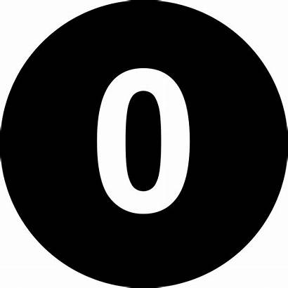 Zero Number Icon Serial Svg Onlinewebfonts 2214